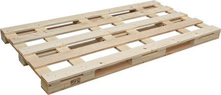 One-off pallet with IPPC certification